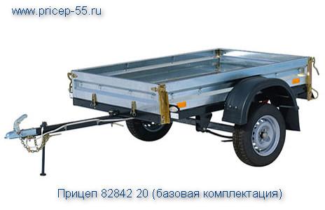 Прицеп КМЗ 8284 20 оборудован