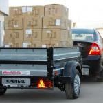 Что нужно знать о перевозке грузов в прицепе