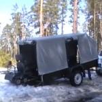 Как правильно подобрать прицеп для снегохода