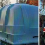 Шведская крыша для финского легкового прицепа